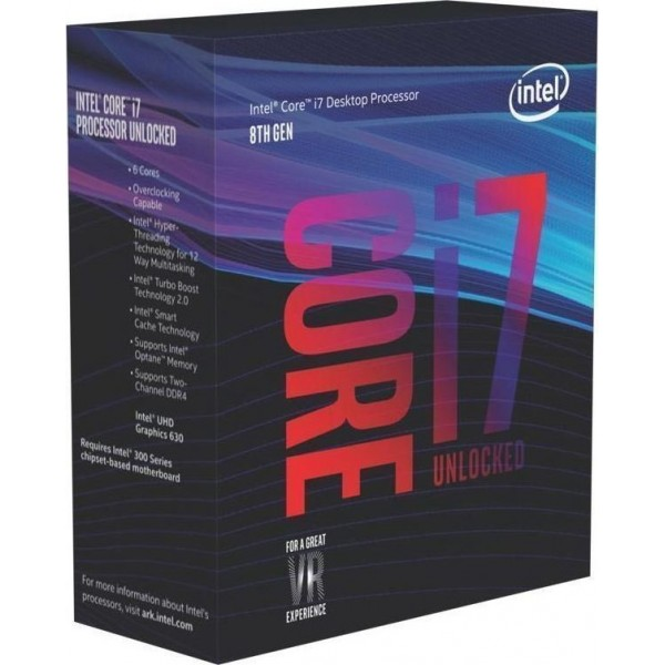 Intel Core i7-8700K Box (BX80684I78700K)